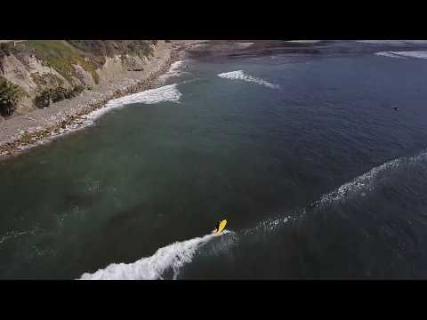Skip Frye Surfing PB Point (2018 Drone Footage)
