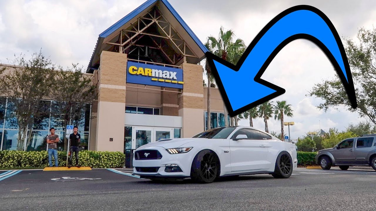 She brought her supercharged mustang to carmax and this is what they gave her carmax appraisal
