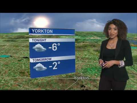 Weather Anchoring 8 - CTV Regina