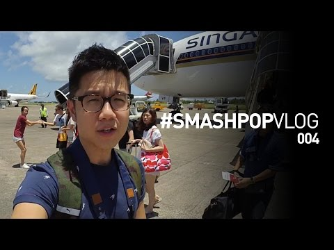 #SMASHPOPVLOG 004: Flying to Maldives w Instagrammers!!