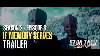 "Promo  Star Trek: Discovery ""If Memory Serves"" S02E08"