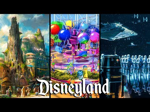 Top 5 NEW Attractions Coming to Disneyland in 2019