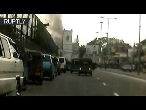 لحظة انفجار كنيسة في عاصمة سريلانكا  - نشر قبل 4 ساعة
