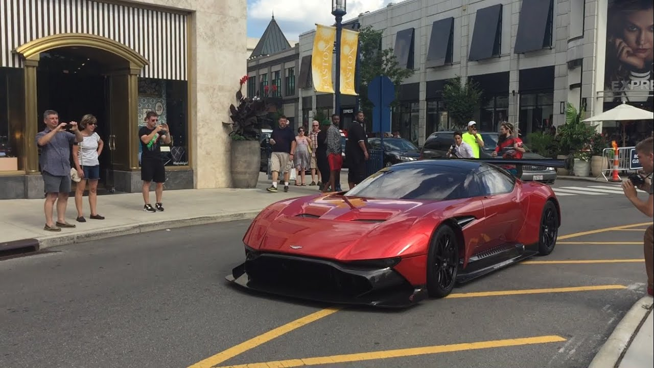 Why is aston martin vulcan not road legal