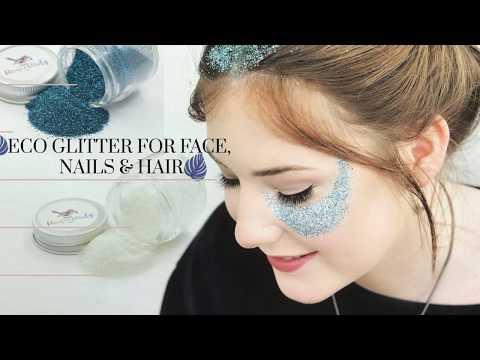 Eco-friendly Biodegradable Glitter For Nails, Face, Hair
