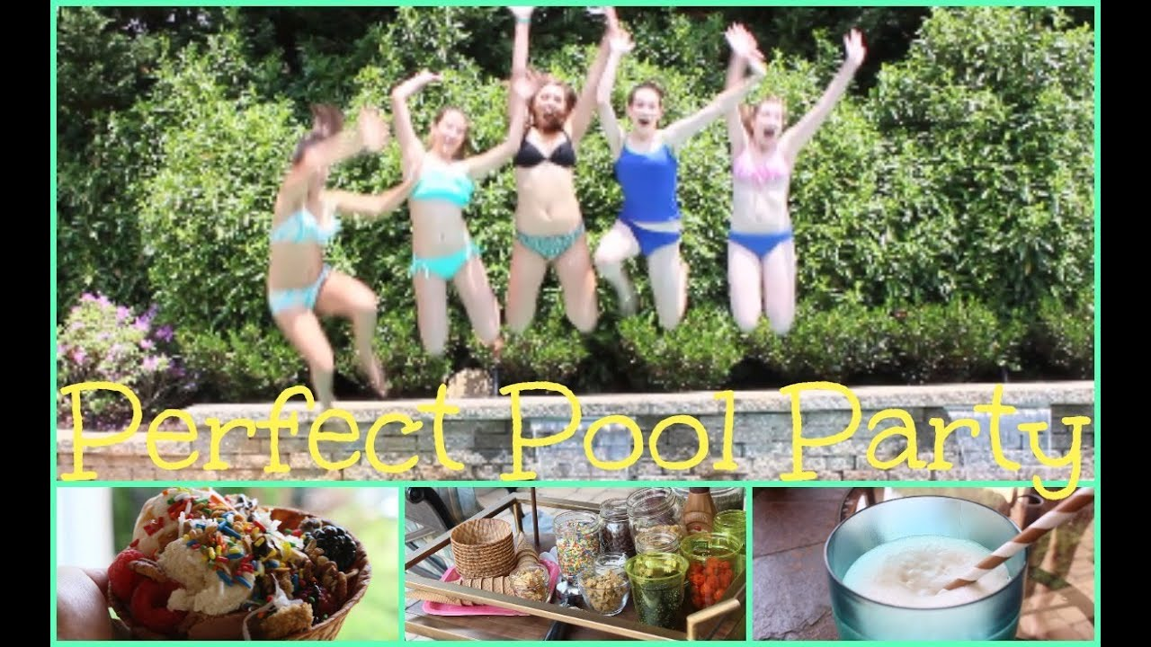 Pool Party Food Ideas For Teenagers party of 5 glam black white seuss first birthday country garden How To Throw The Perfect Pool Party Food Treats And Tips