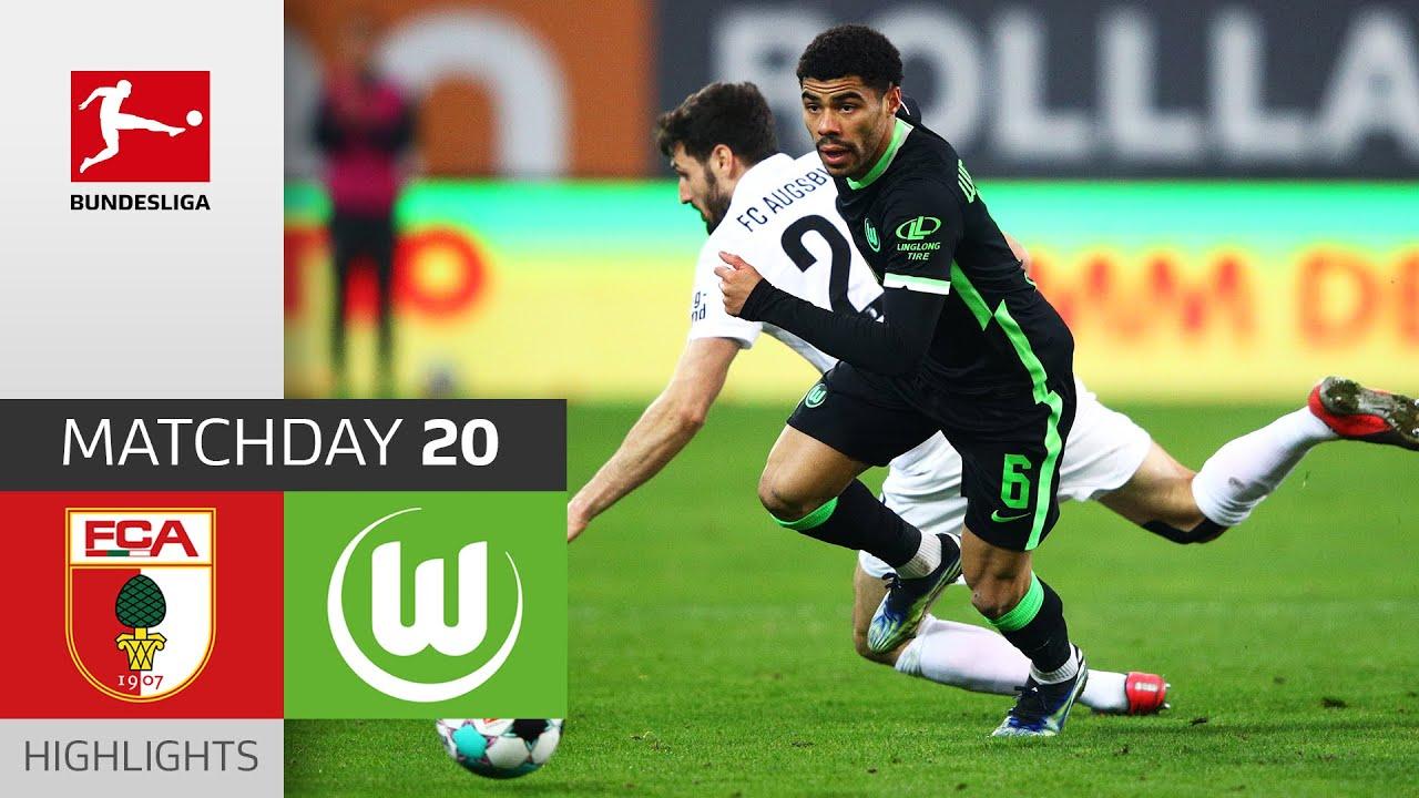 Download FC Augsburg - VfL Wolfsburg | 0-2 | Highlights | Matchday 20 – Bundesliga 2020/21