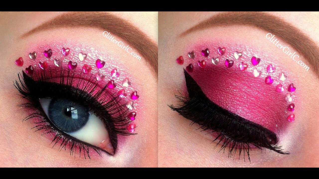 Valentine S Day Makeup Tutorial Youtube