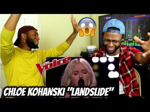 The Voice 2017 Knockout  Chloe Kohanski: Landslide REACTION