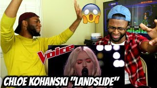 "The Voice 2017 Knockout - Chloe Kohanski: ""Landslide"" (REACTION)"