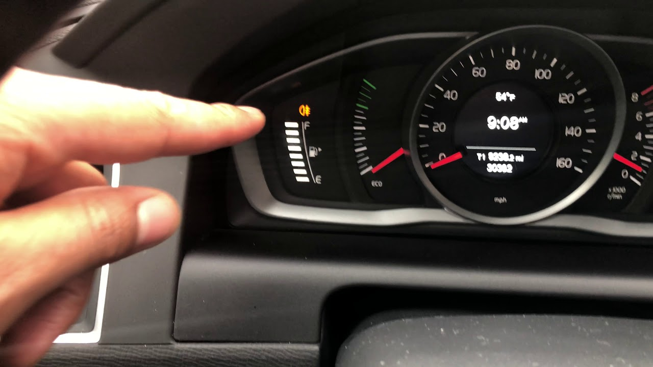 Volvo Xc60 Xc70 Xc90 Fog Lights How To Turn On Off Youtube Fuse Diagram For 2008 S40