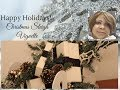 HOLIDAY DECOR:  Decorate With Me - Christmas Sleigh Vignette