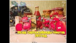 Семена томатов . Мои ОТЗЫВЫ о урожайности сортов и гибридов. Сезон помидора 2017 год.