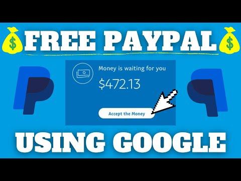 Make FREE PayPal Money With Google (Make Money Online 2021)