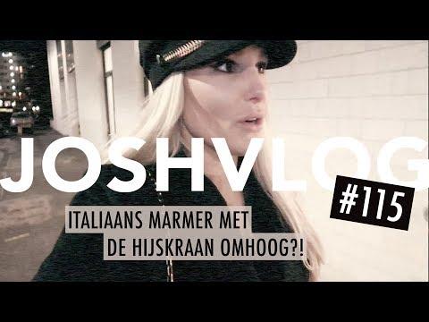 ITALIAANS MARMER MET DE HIJSKRAAN OMHOOG?!   JOSHVLOG #115