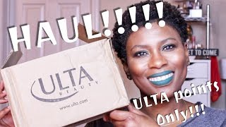 ULTA HAUL!!!!!! Points, Points and more Points!!!!
