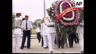 VIETNAM: HANOI: PALESTINIAN LEADER YASSER ARAFAT VISIT