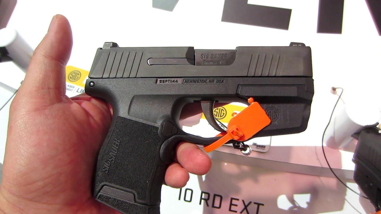 2018 Sig Sauer P365 Light & Laser - First Impression