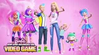 Just Dance e Divirta-se! | Barbie Em um Mundo de Video Game | Barbie