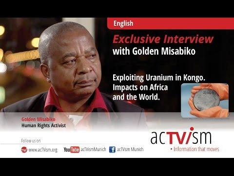 Golden Misabiko on the exploitation of uranium in Congo