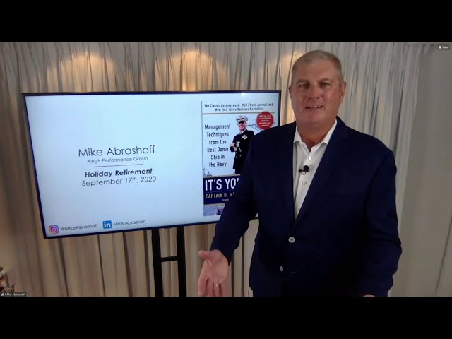 MIKE ABRASHOFF: Our People Are Watching