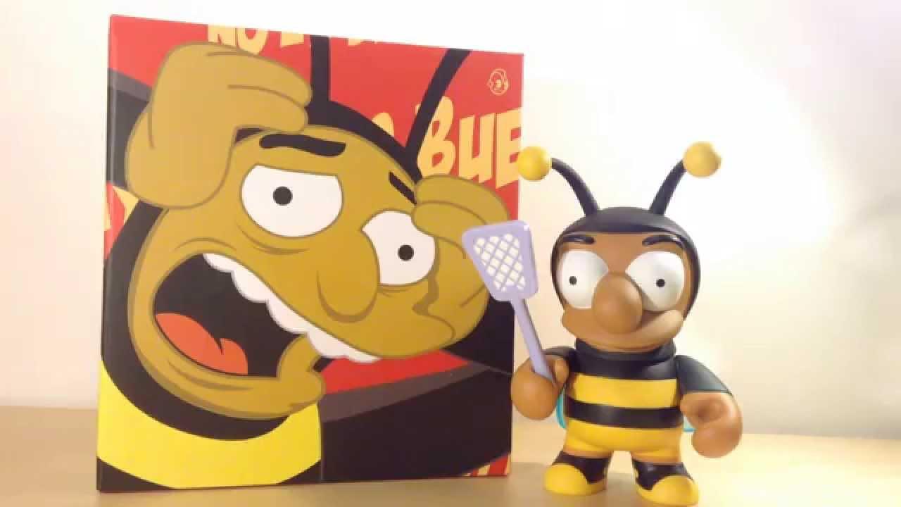 "THE SIMPSONS #NEW Kidrobot Bumblebee Man 6/"" Vinyl Figure"