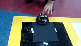 Friction on sand paper
