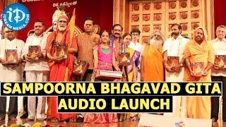 Sampoorna Bhagavad Gita Audio Launch In Hyderabad
