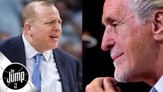 Pat Riley incensed at Tom Thibodeau after Jimmy Butler trade to Heat fails - Jorge Sedano | The Jump