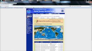 4/11/2012 -- 8.7 magnitude earthquake Sumatra West Pacific = Tsunami warning