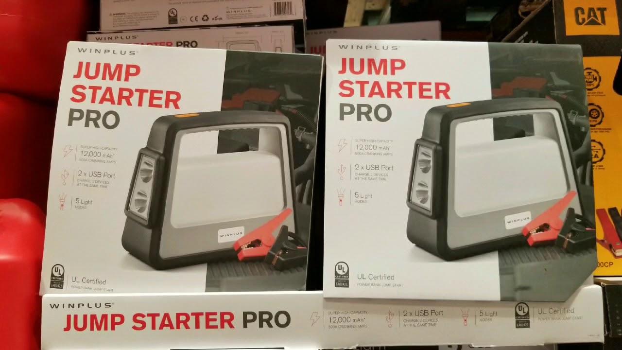Costco Winplus Jump Starter Pro 79 Youtube