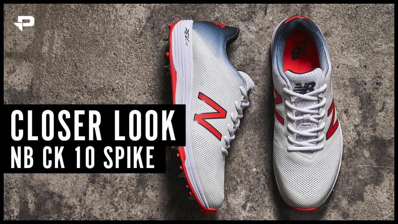 New Balance CK10 Cricket Shoes - Closer Look