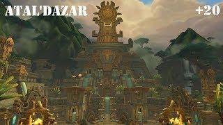 WoW: Battle for Azeroth - Atal'Dazar (Mythic) +20 - Havoc Demon Hunter PoV