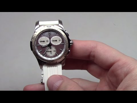 33f2a8ec20 Victorinox Swiss Army Alliance Sport Chronograph Women's Watch Review Ref:  241352