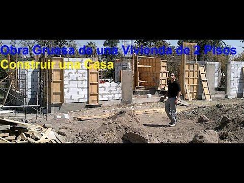 Construir una casa solida en hormigon armado y bloques for Casas de hormigon precios y fotos
