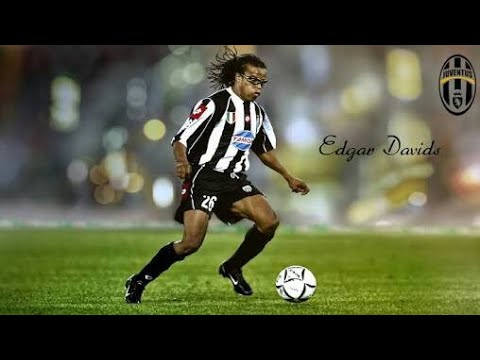 Edgar Davids 1991-2014 · the pit bull · goals, assists and dribbling   Football BR
