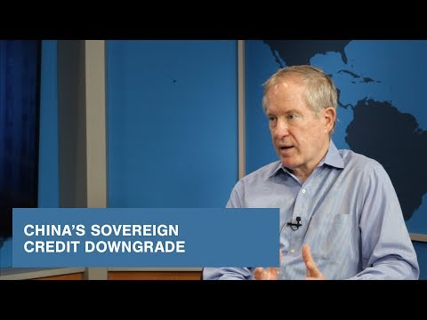 China's Sovereign Credit Downgrade