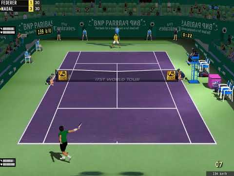 Tennis Elbow 2013, Indian Wells 2017 : Roger Federer-Rafael