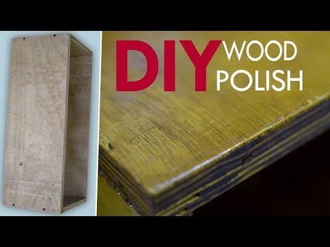 How To Finish and Polishing Wood & Plywood in Home | DIY Wood Working