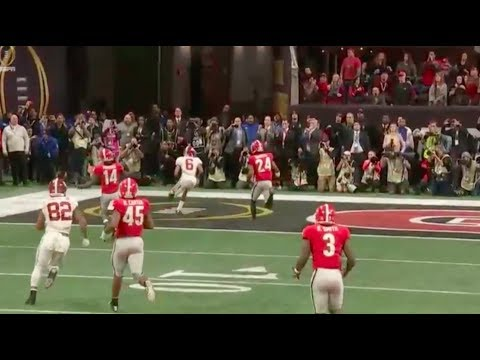 Film Study: Alabama vs Georgia | CFP National Title Game