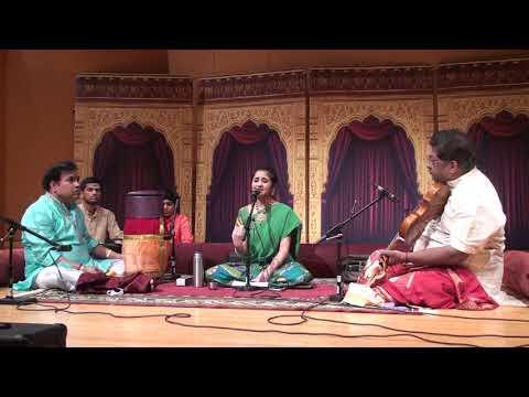 Shreyaa Srinivasan Cleveland Concert 2018