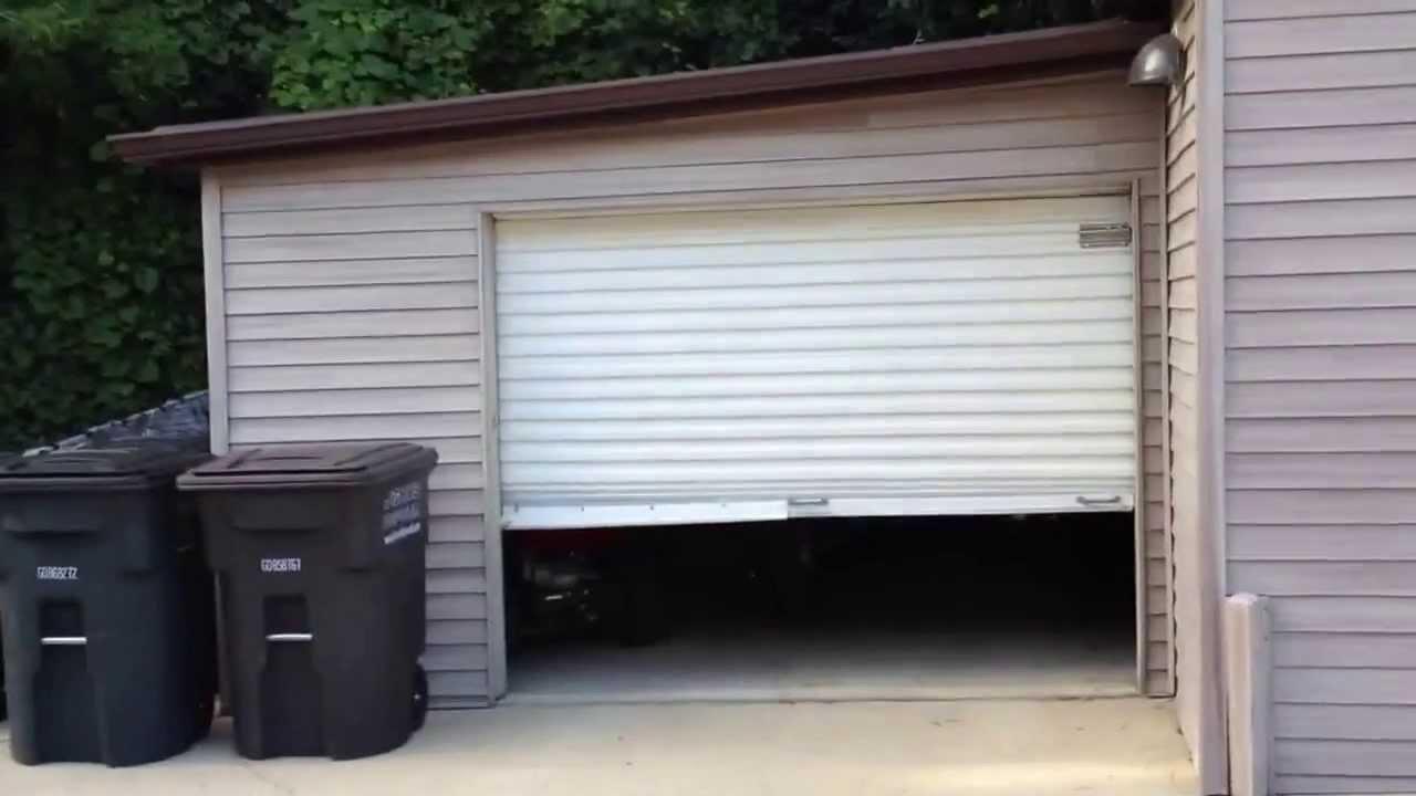 Small Roll Door Electric Opener Youtube