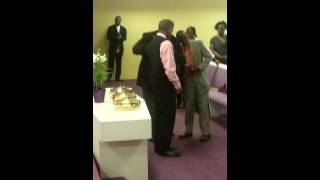 Marriage Proposal @ Dwyane Wade's Mom Church
