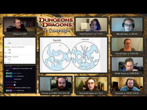 Dungeons & Dragons 5e Campaign - World Building Session 0 with Dawn of Worlds System