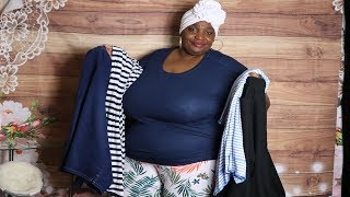 Plus Size Clothing Try On (Walmart)