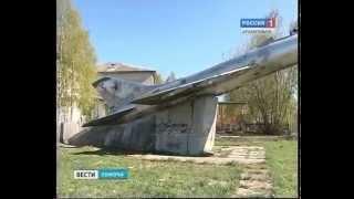 В п. Талаги - реконструкция самолёта