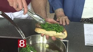 In The Kitchen: Sausage W/ Broccoli Rabe Sandwich