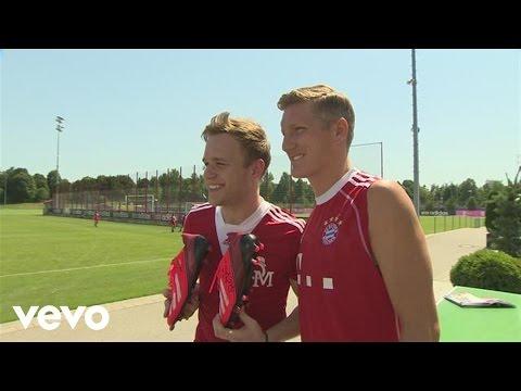 Olly Murs - Olly Murs Visits FC Bayern, Munich