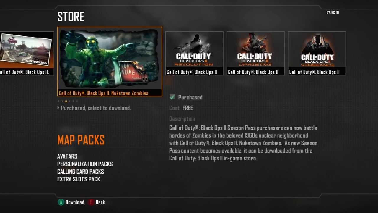 Get free call of duty: black ops 2 cyborg weapon camo skin dlc.