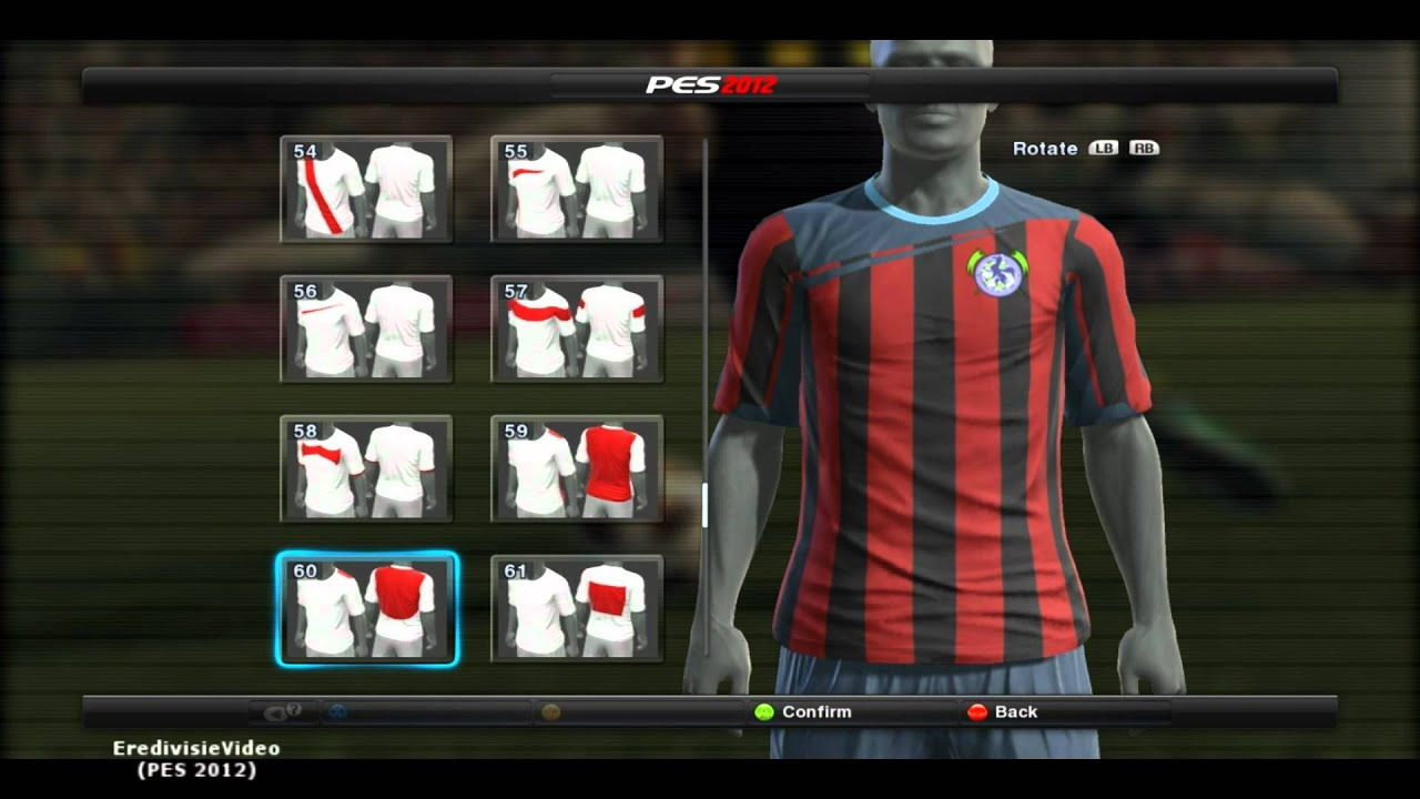 8b389cf9cc3684 Pes 2012 || How to make Manchester City Kit Home/Away || Edit - HD ...
